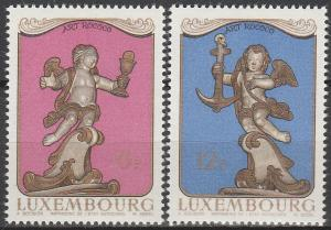 Luxembourg #631-2 MNH F-VF (V3765)