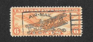C19 Used, Beautiful S.O.N. Air Mail Cancellation,