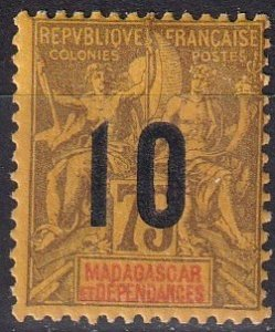 Madagascar #118 F-VF Unused CV $12.50 (Z5030)