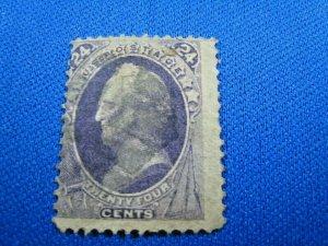 UNITED STATES, 1870 SCOTT #153 -  USED   (#2)