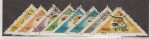 Poland Scott #842-849 Stamps - Used Set