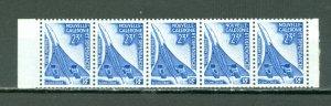 NEW CALEDONIA AIR SCARCE BKLT PANE of 5...MNH...$250.00