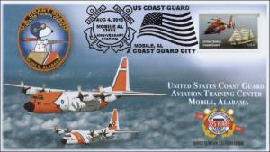 2015, USCG Aviation Training Center, Pictorial Postmark, 15-219