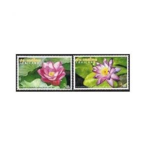 Thailand 2028-2029,2029a,MNH. Diplomatic Relations-Australia.Pink,Purple Flowers