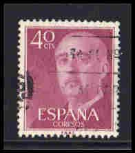 Spain Used Very Fine ZA5913