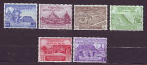 J23706 JLstamps 1954 burma mh set #153-8 views