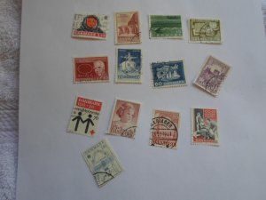 DENMARK STAMPS, LOT OF 10 STAMPS # 8