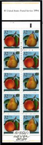 BK178 Mint,OG,NH... Booklet (2x2488a)... SCV $13.00