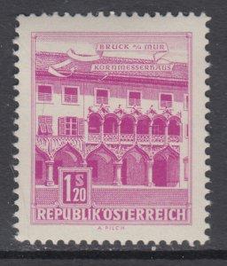 Austria 694 MNH VF