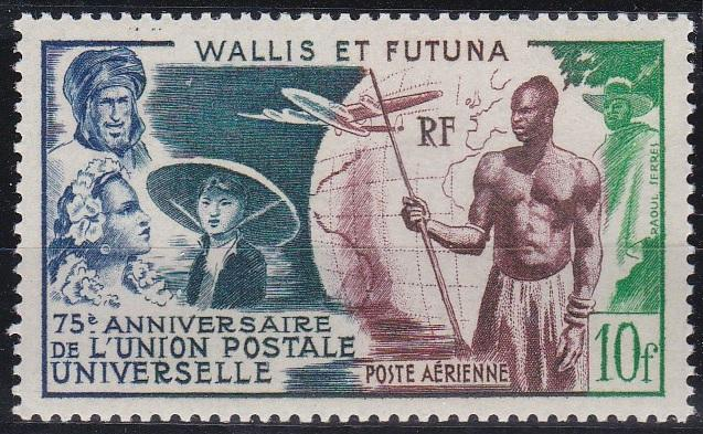 Wallis and Futuna C10 MNH (1949)