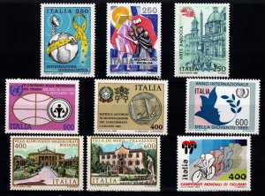Italy 1985 Various Issue Sets and Part Sets [Mint]