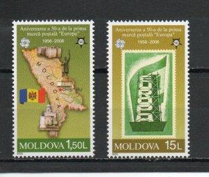 Moldova 496-497 MNH