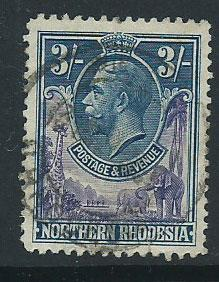 Northern Rhodesia  SG 13 Used light crease on reverse