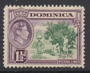 DOMINICA, Scott 99, used