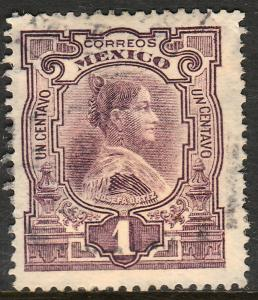 MEXICO 310, 1c INDEPENDENCE CENTENNIAL. USED. F-VF. (415)