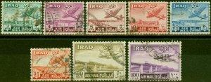 Iraq 1949 Air Set of 8 SG330-337 Fine Used