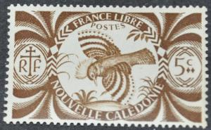 DYNAMITE Stamps: New Caledonia Scott #252 – MNH