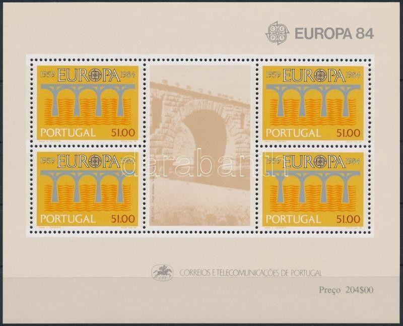 Portugal stamp Europa CEPT: Conference block 1984 MNH Mi 43 WS243286