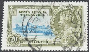 Kenya, Uganda & Tanganyika Scott #42 – USED