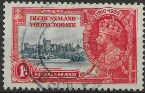 BECHUANALAND SG111 1935 SILVER JUBILEE 1d USED