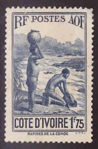 Ivory Coast Scott 144 MH* stamp