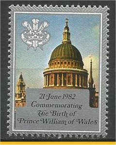NIUE, 1981, MNH, Prince William of Wales. Scott