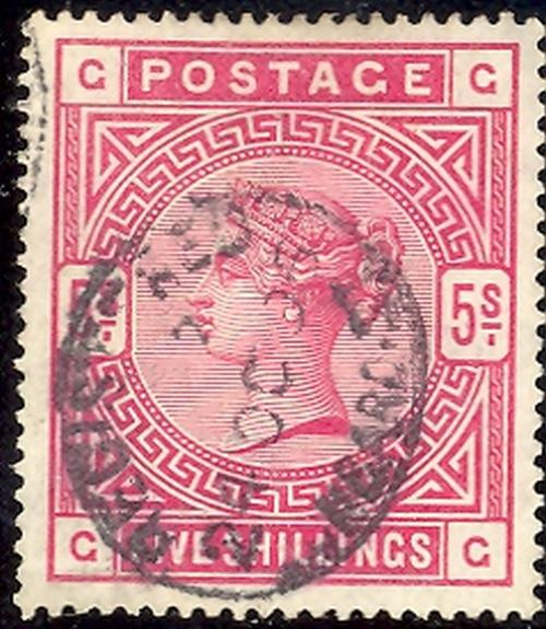 Great Britain #108 Used  VF
