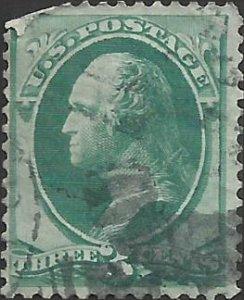 # 147 Green Used FAULT George Washington
