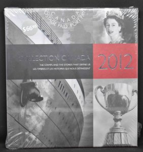 CANADA 2012 Stamp Yearbook USA delivery only.