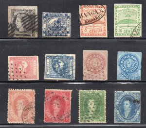 Argentina classic selection. Fine used.