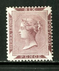 Sierra Leone Stamps # 1a VF OG LH Scott Value $275.00
