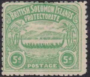 Soloman Island 1907 SC 5 H