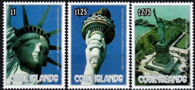 Cook Islands #913-5 MNH CV $5.00 (X4117)