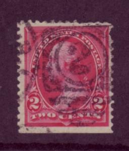 249 Used,  2c. Washington,  scv: $7.00
