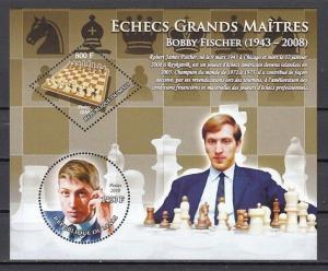 Mali, 2010 issue. Bobby Fischer, Chess Master s/sheet. ^