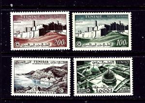 Tunisia C17-20 MNH 1953-54 Set