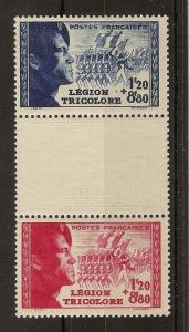 France 1942 Legion Pair SG769-770 MNH