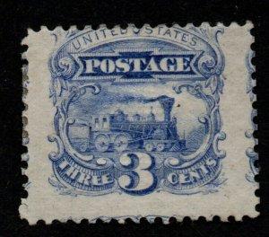 $US Sc#114 M/H, OG JUMBO freak monster stamp! Cv $225