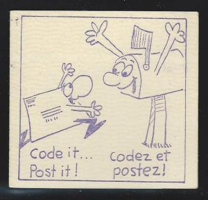 Canada Booklet mnh  Unitrade # 789b / bk81a