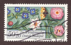 Germany B0636   USED flowers
