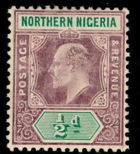 NORTHERN NIGERIA SG20a, ½d dull purple & green, VLH MINT.