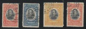 Ecuador - 1904 - SC 160-63 - Used