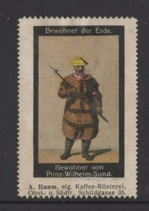 Germany- Inhabitants of Earth Series, Native of Prince William Sound - NG