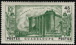Guadeloupe French Revolution B4 VF hr $10.00...Make me an Offer!