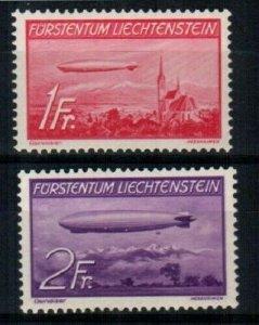 Liechtenstein Scott C15-16 Mint hinged [TE346]
