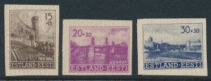 Stamp Germany Estland WWII 3rd Reich Occupation Estonia Imperf Set MNG