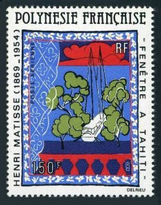 Fr Polynesia C177,MNH.Michel 304. Window on Tahiti,by Henri Matisse,1980.
