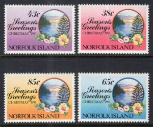 Norfolk Island 510-513 Christmas MNH VF