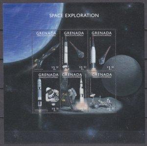 1999 Grenada Grenadines 2974-2979KL Space exploration 10,00 €
