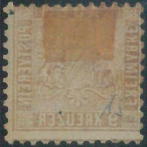 77932  -  GERMANY Baden -  STAMP:  Michel  # 15a D  -    USED - RARE!!